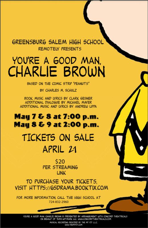 Charlie Brown flyer