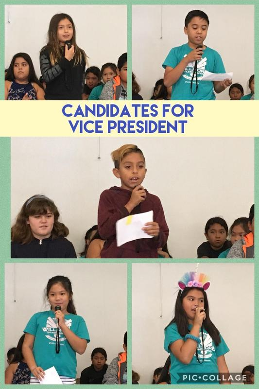 Candidates for Vice President