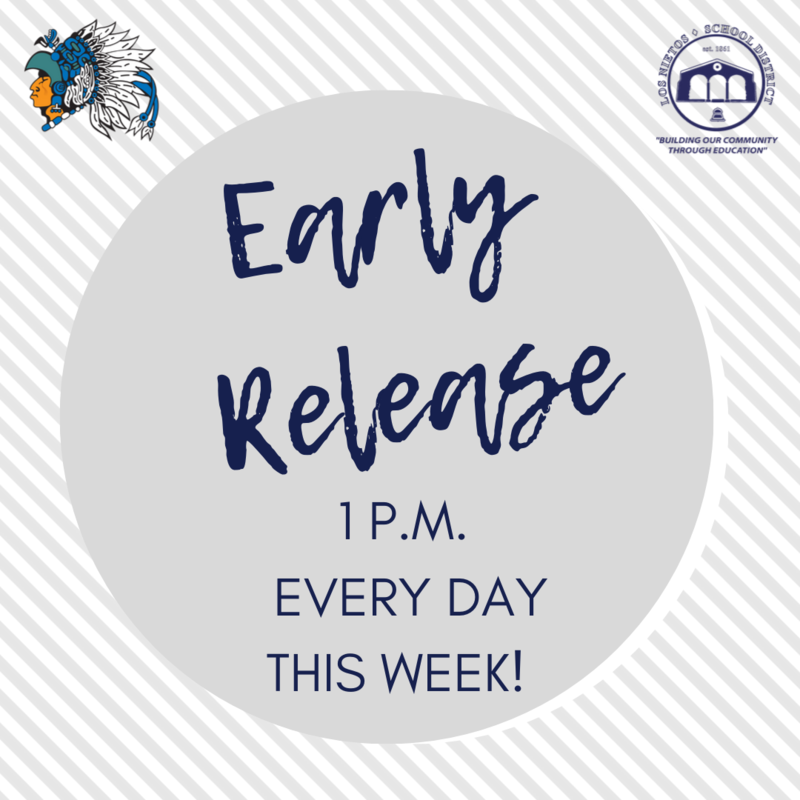 Early Release All Week! Featured Photo