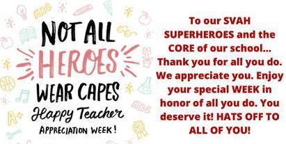 Happy Teachers' Appreciation Week! Featured Photo