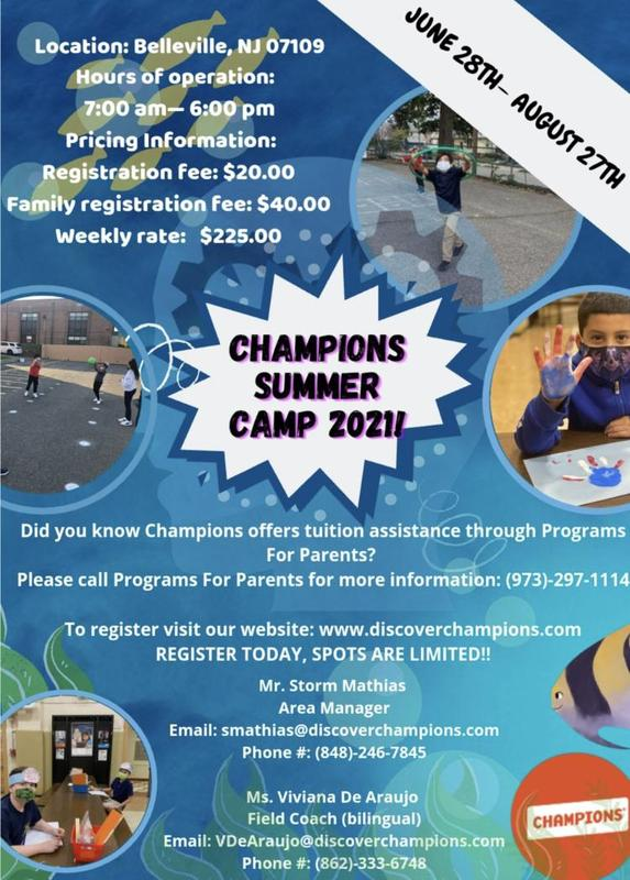 Champions Summer Flyer Featured Photo