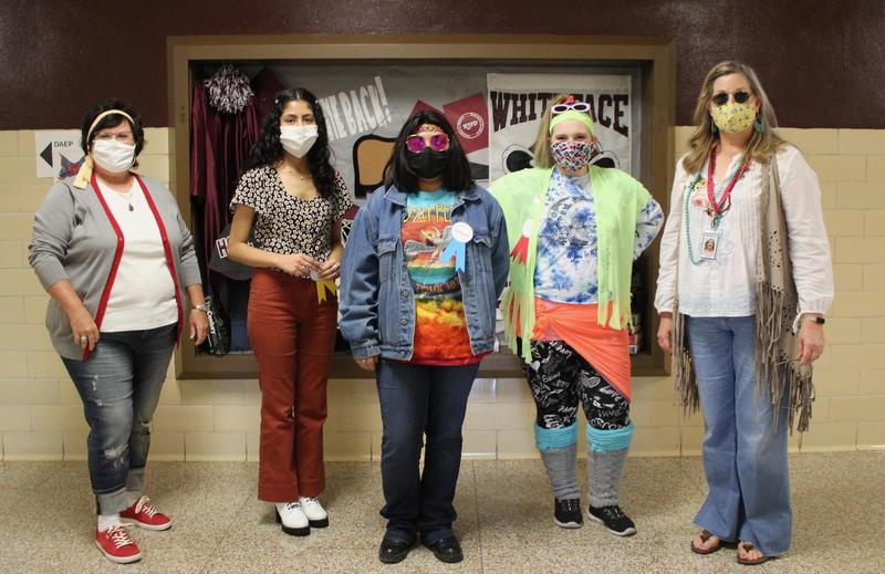 Decades Dress Up Day Winners