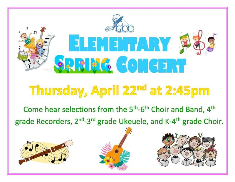 Elementary Spring Concert Featured Photo
