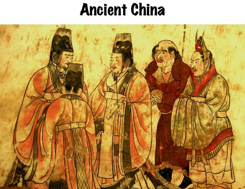 the history of imperial art in ancient china