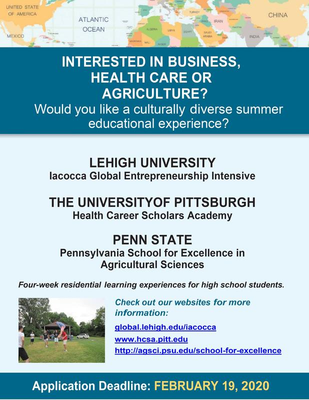 College Flyer for agricuture