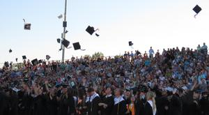 TKHS graduates celebrate the end of their high school careers.