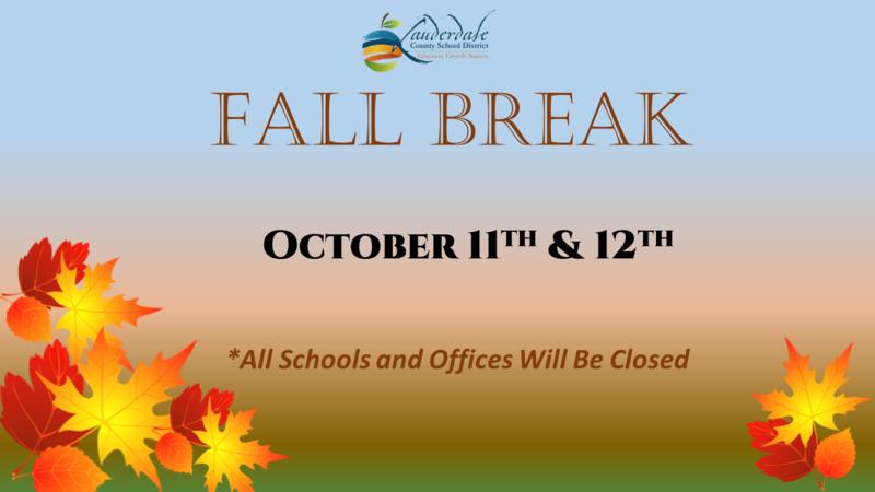 Fall Break 2021 Graphic