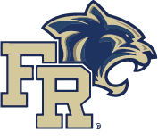 Franklin Regional School District block letter logo with Panther head (registered trademark)