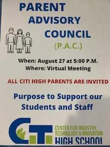 Virtual Parent Advisory Committee Meeting Featured Photo