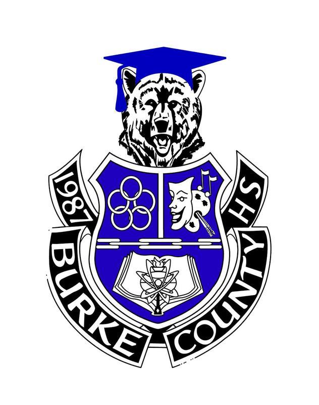 BCHS Crest, Bear wearing Graduation Cap