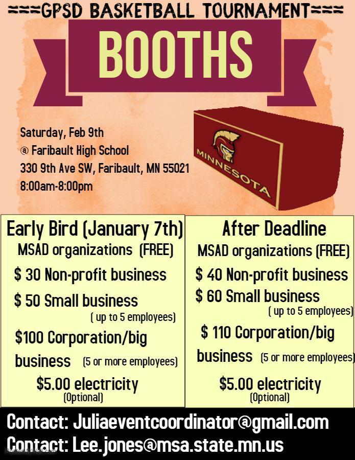 Booth Vendor Flyer