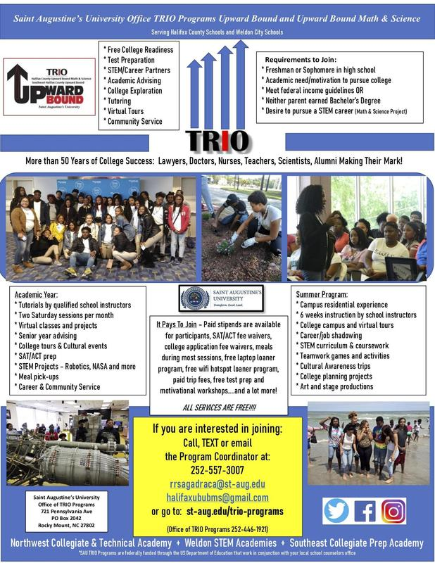 Upward Bound Recruitment Featured Photo