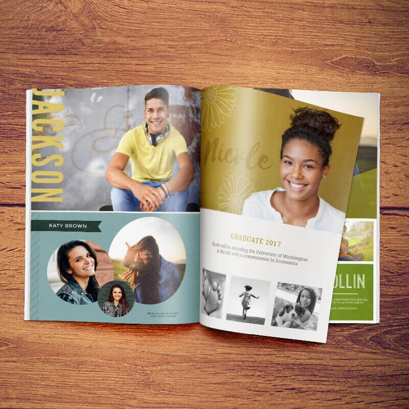 Senior Yearbook Ad Example