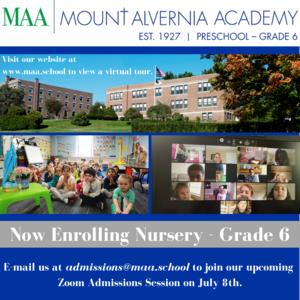 Now Enrolling Nursery - Grade 6.png
