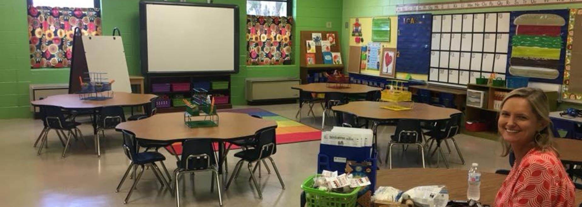 Mrs. McKenzie's 1st grade classroom