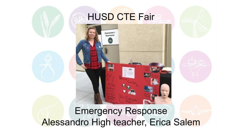 Emergency Response Alessandro High teacher, Erica Salem