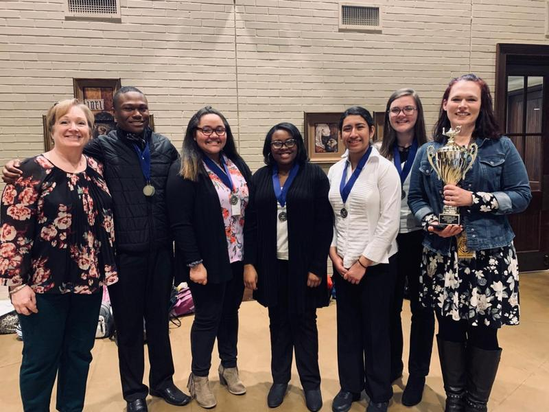 First place literary winners