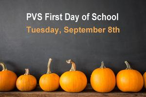 First Day of School - Sept 8th, 2020