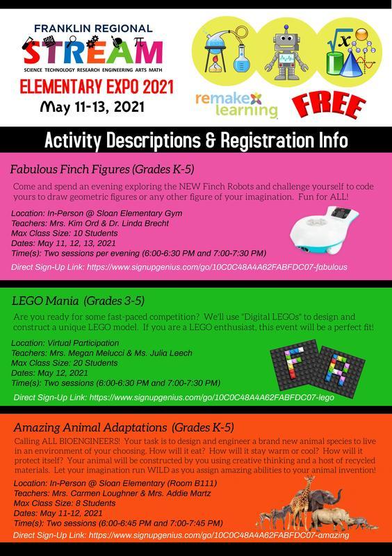 Courses & Registration Info/Expo 2021