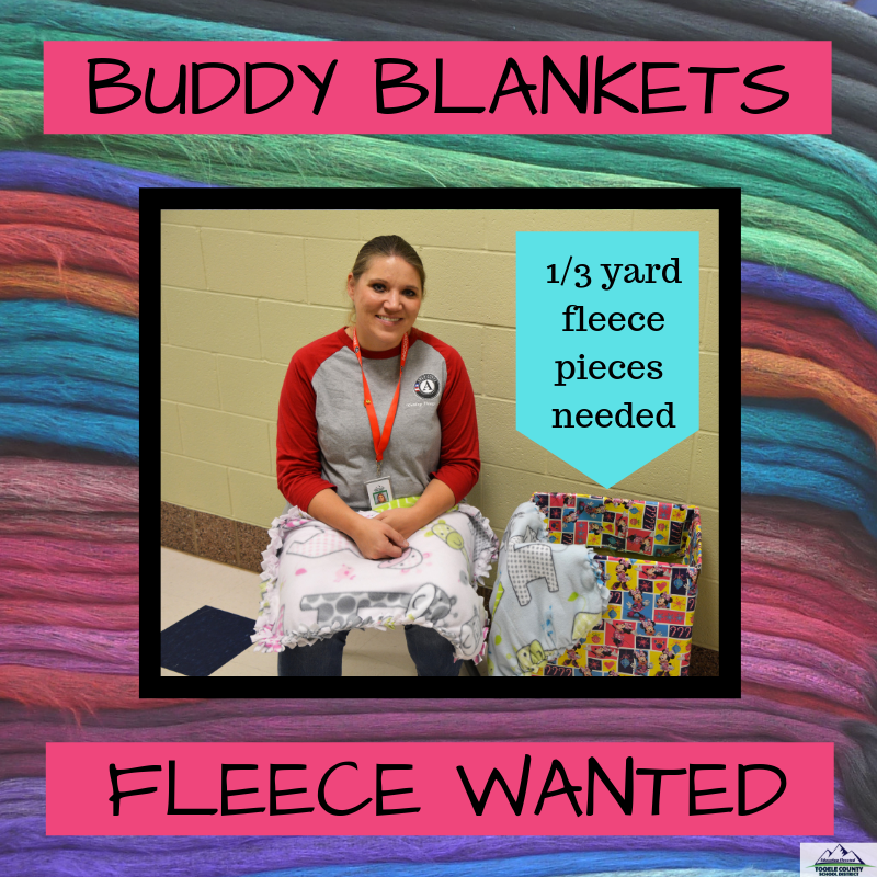 Buddy Blankets - Fleece Wanted