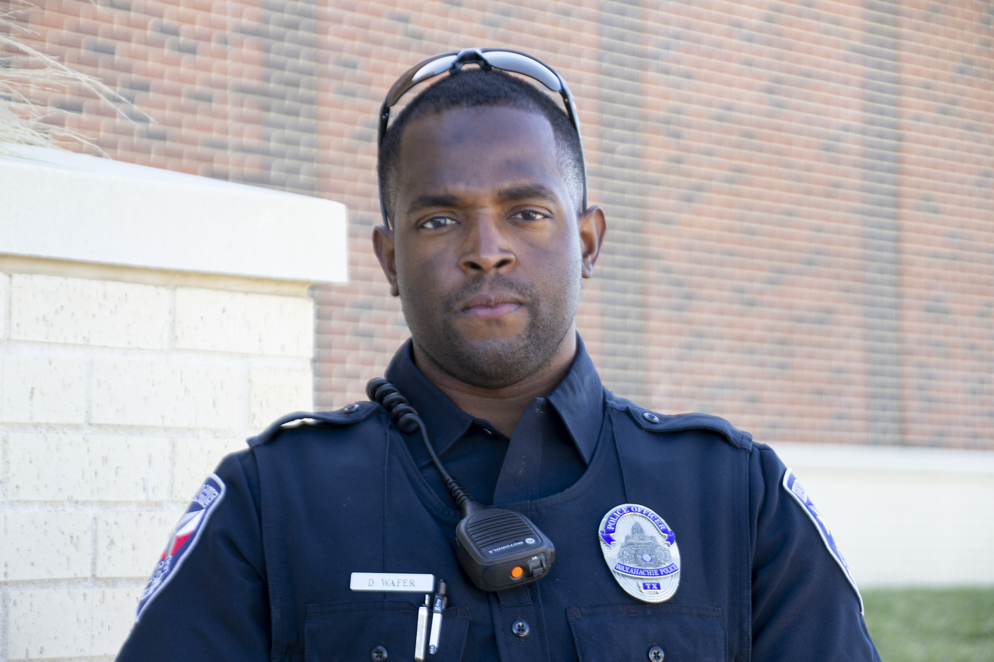 headshot of officer officer wafer