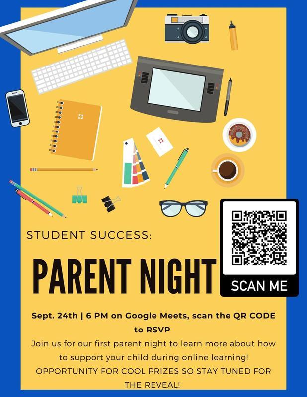Gear Up Parent Night Flyer
