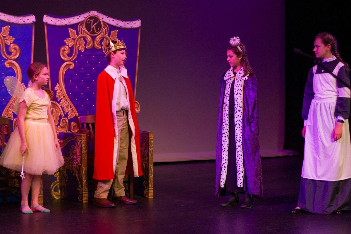 Students perform The Spell of Sleeping Beauty
