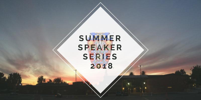 SUMMER SPEAKER SERIES Featured Photo