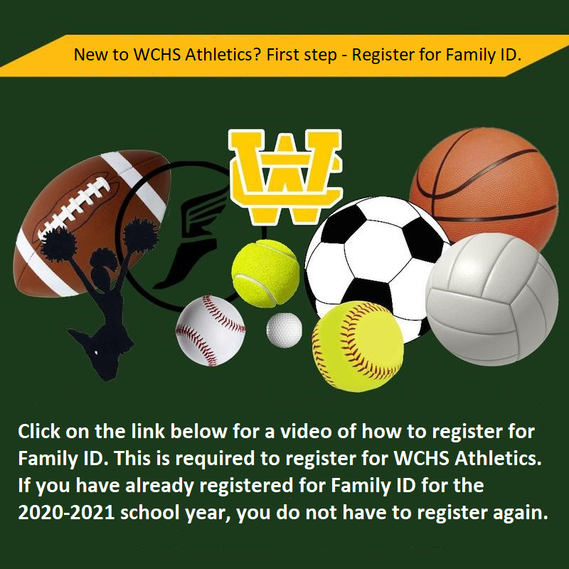 Athletics - How to register for Family ID Thumbnail Image