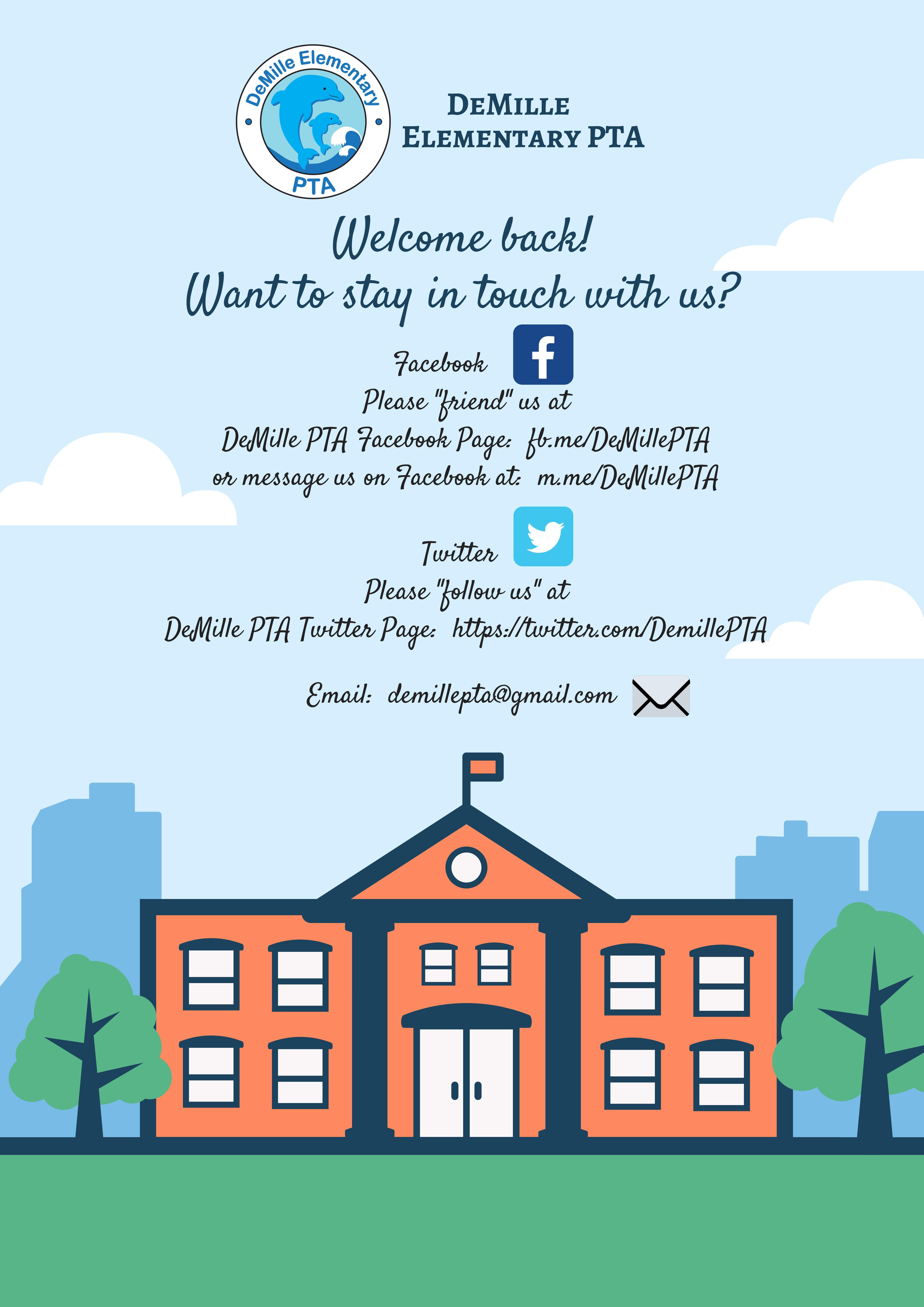 PTA Social Media Flyer