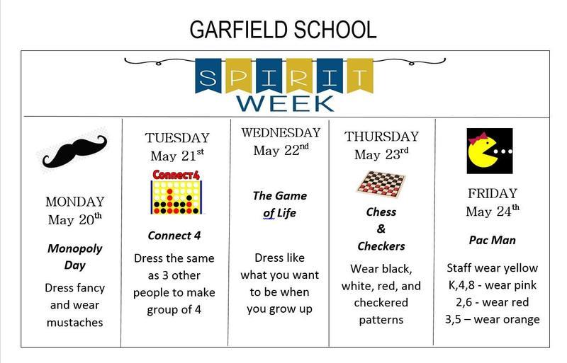 Garfield Spirit Week Featured Photo