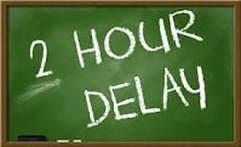 Delayed Start Wednesday, October 17 Thumbnail Image