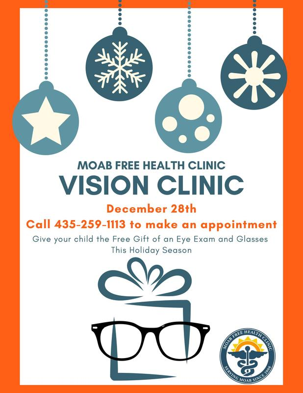 MOAB FREE HEALTH CLINIC - VISION CLINIC Featured Photo