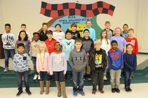 B-L Elementary School Honors Character Education Trait Winners