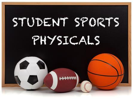 Sports Physicals Reminder Thumbnail Image