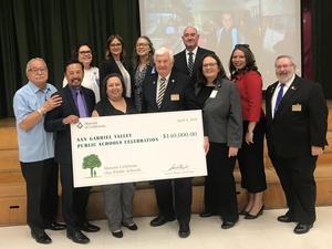 Masons Awarding $50,000 to PV