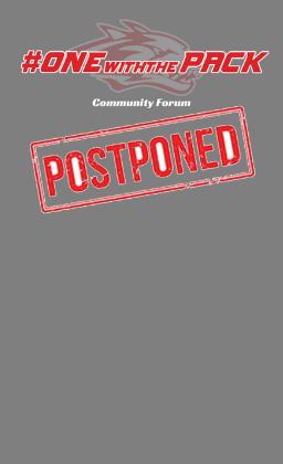 postponed sign