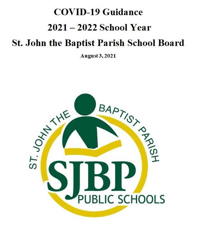 St. John the Baptist Parish Covid-19 Guidance Thumbnail Image
