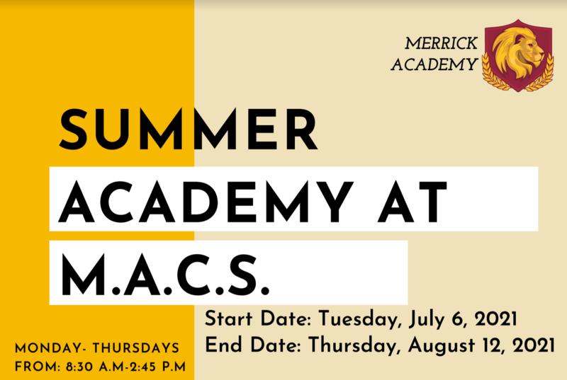 Summer at M.A.C.S