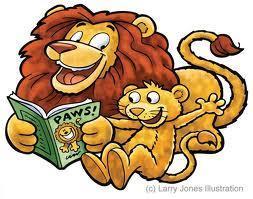 Lion Reading