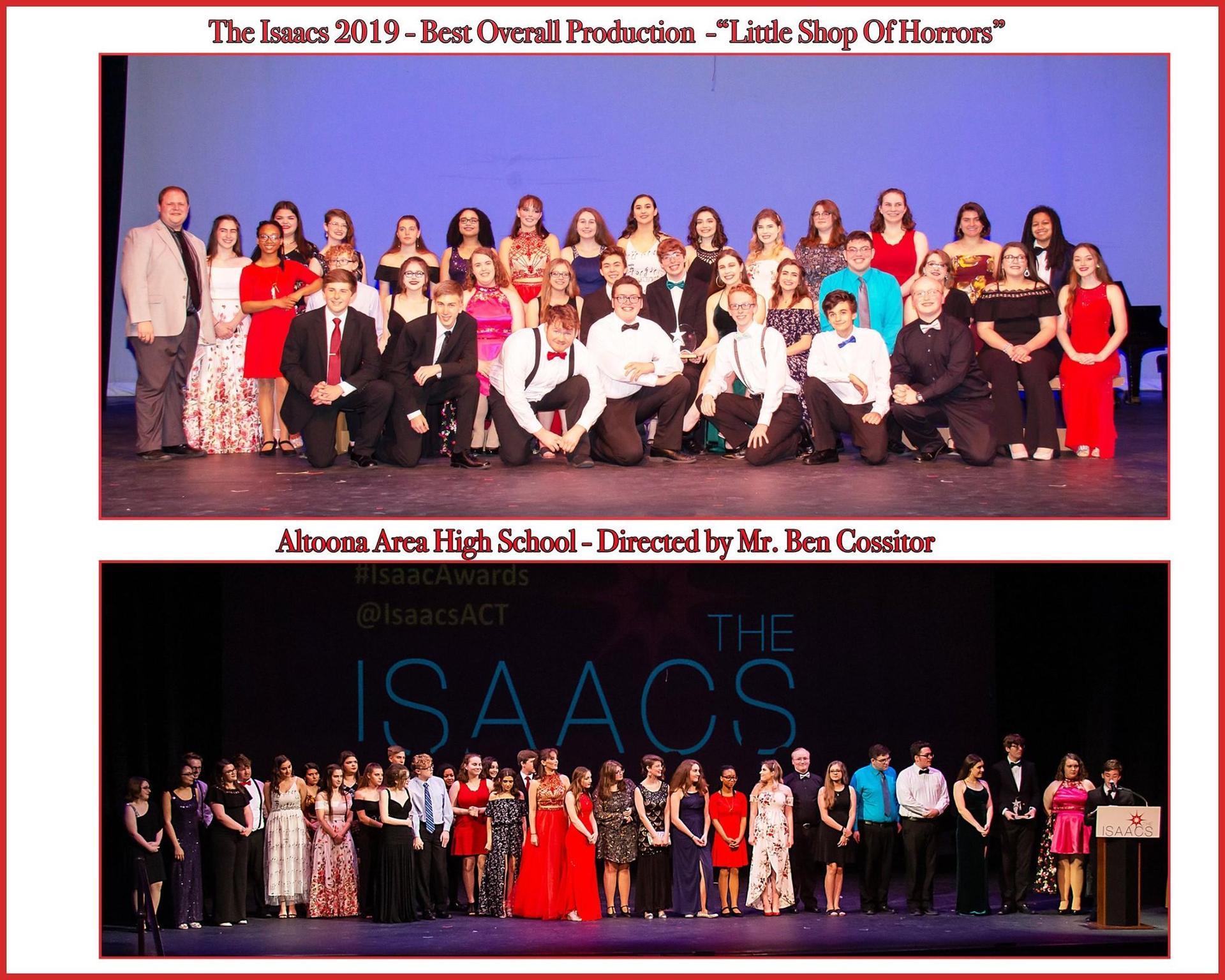 Isaacs Best Production