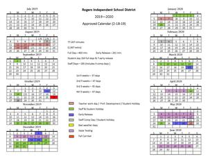 district calendar image