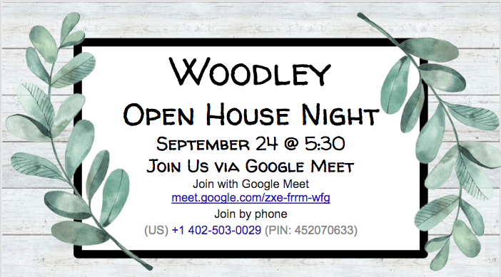 Woodley Open House Featured Photo