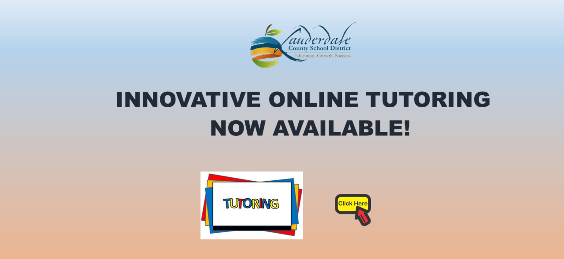 Online Tutoring Available Graphic