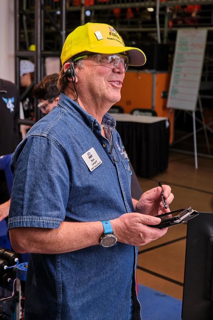 Senior Mentor Mark. We love him!