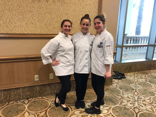 TISD's 1st Competitive Culinary Team competed in 2019