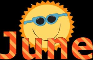 June sun