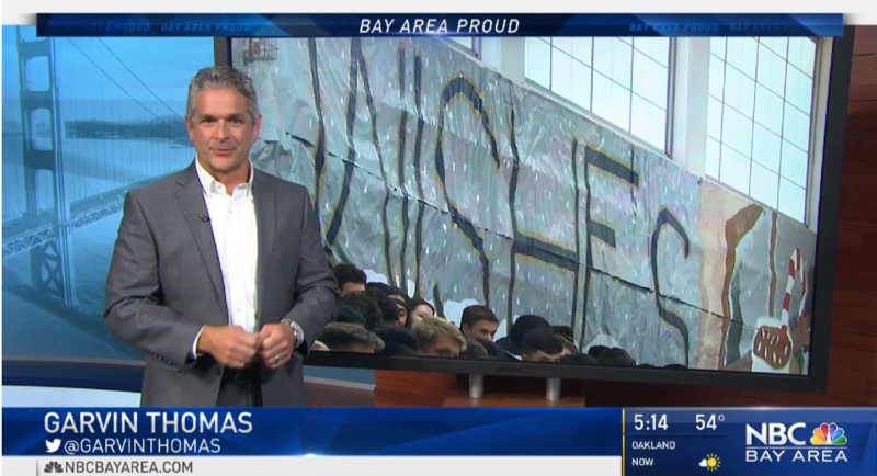 NBC Bay Area Story on Winter Wishes