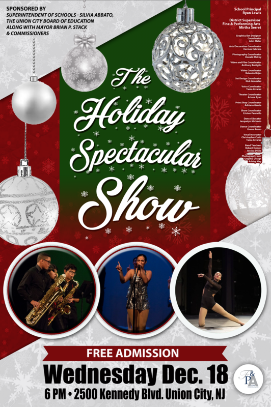 fapa holiday showcase flyer