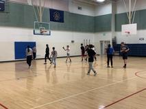 Intermural basketball